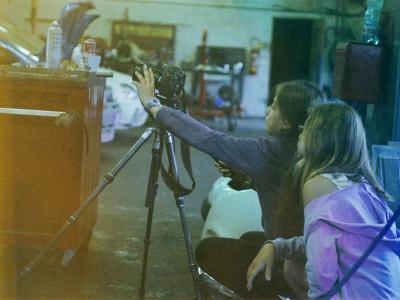 Atelier direction artistique, au garage